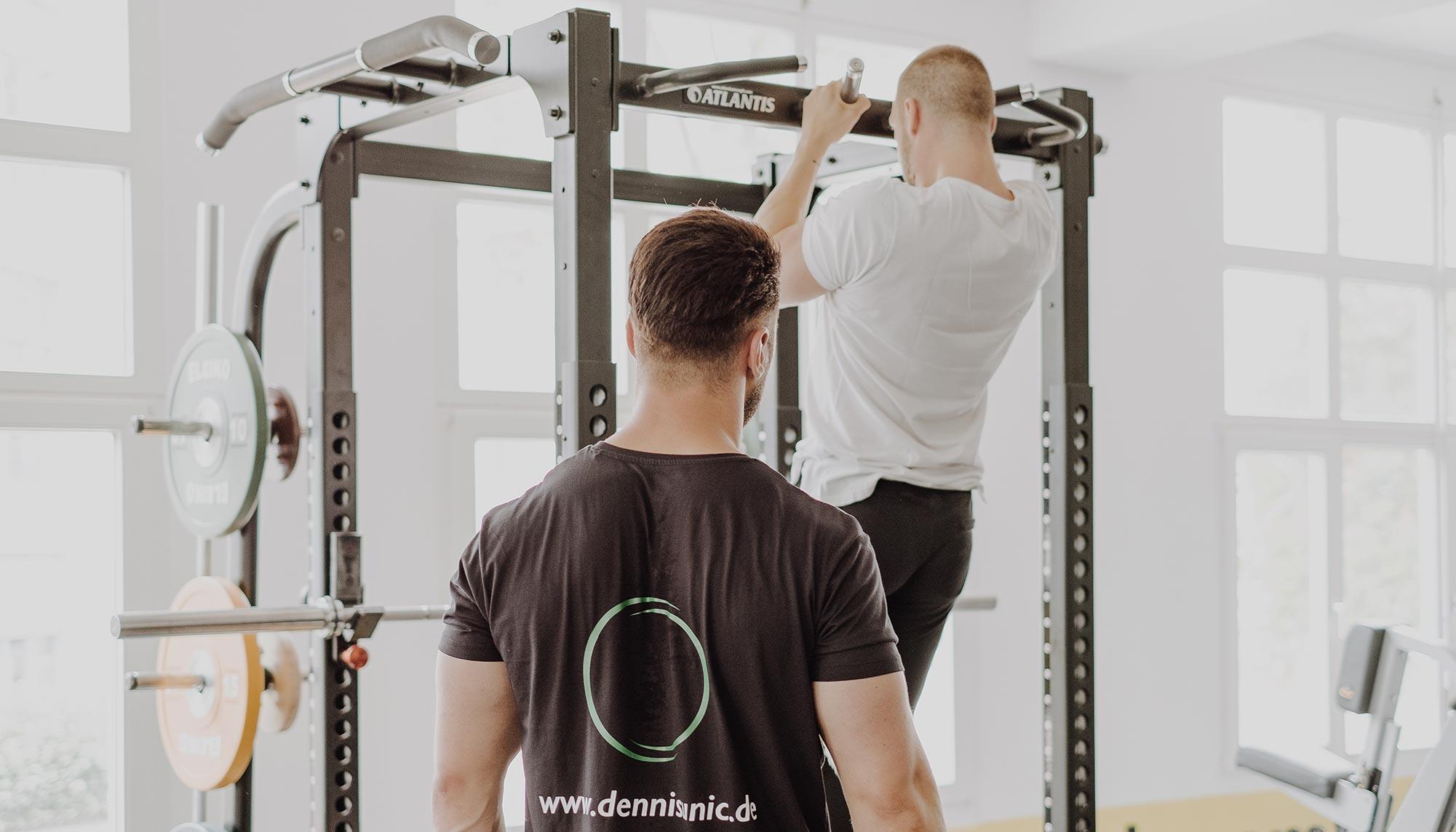 Dennis Training Klimmzug Coaching